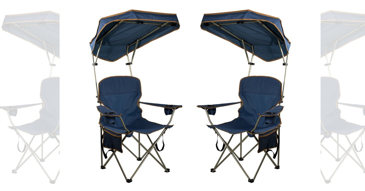 Amazon Quik Shade MAX Camp Chair Navy Only 1477 Regular Price 3999