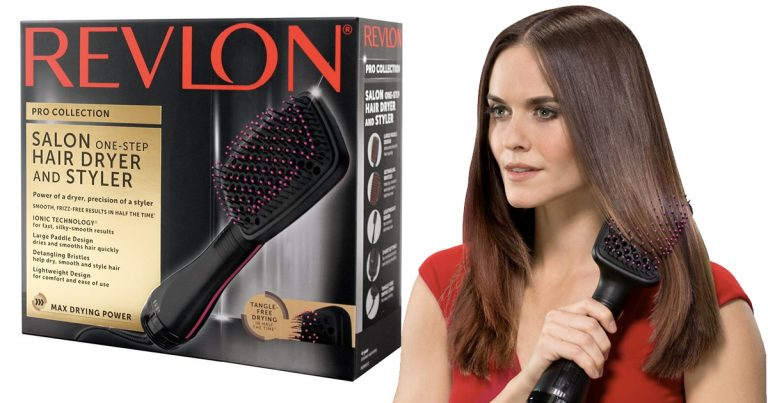 Amazon: Revlon Salon One-Step Hair Dryer & Styler $31 63