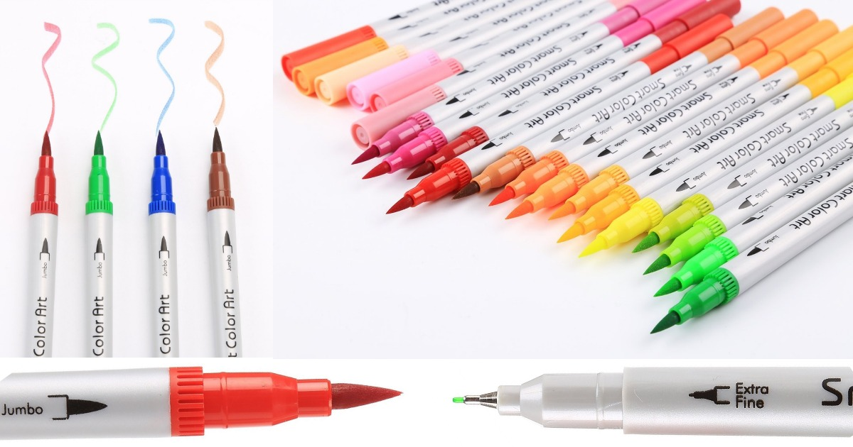 Amazon: 48ct Tip Brush Pens Art Markers only $15.79 (Regular Price: $49.99)