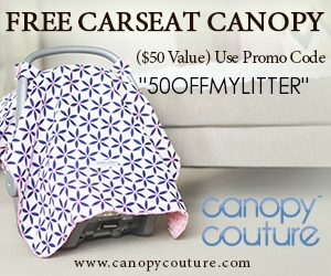To get your Carseat Canopy free head over here and use my exclusive code 50OFFMYLITTER. If you choose to upgrade you can get your car seat canopy ...  sc 1 st  MyLitter & Carseat Canopy Free after Code! (Reg $49.95 - Just pay Shipping ...