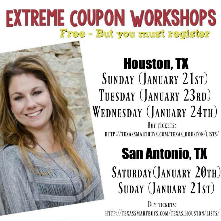 Coupon classes in houston 2018