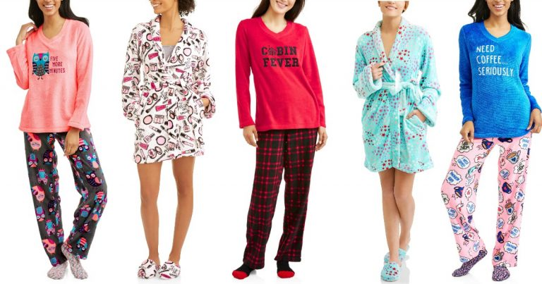 4c3a2e294d Walmart is offering up some great deals on sleepwear for women! Check out  these deals…there are lots more so go look!