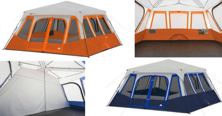 Walmart Ozark Trail 14-Person 2-Room Instant Cabin Tent $129 (Reg. $214)  sc 1 st  MyLitter & Walmart: Ozark Trail 14-Person 2-Room Instant Cabin Tent $129