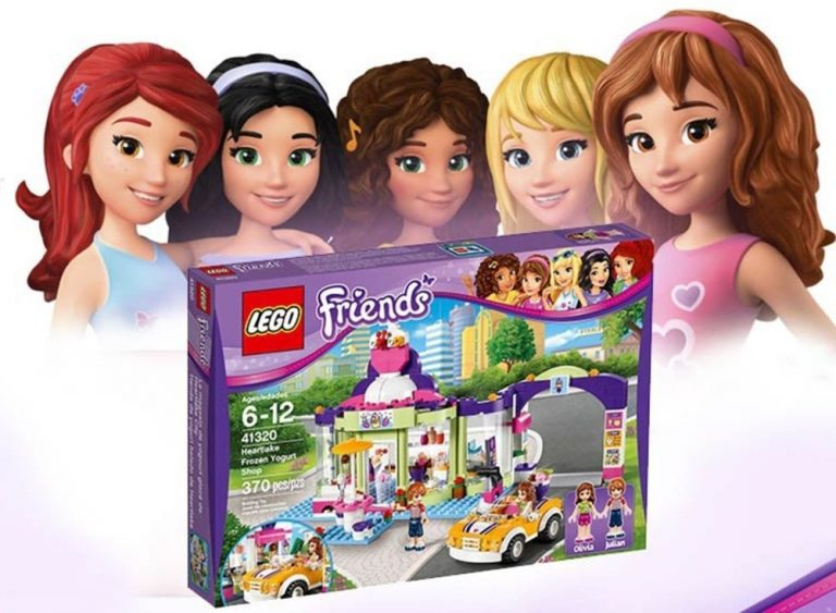 Target Lego Friends Heartlake Frozen Yogurt Shop 3199 Reg 3999