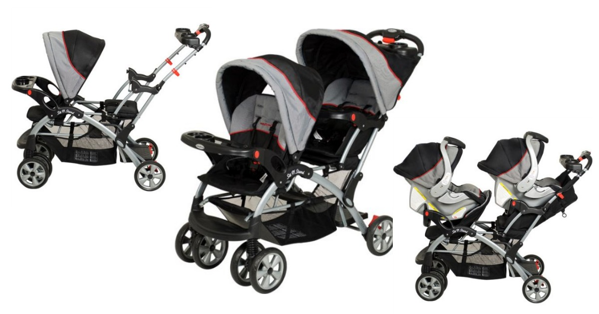 778ddc6ee Walmart  Baby Trend - Sit N Stand Plus Double Stroller only  125.51 ...