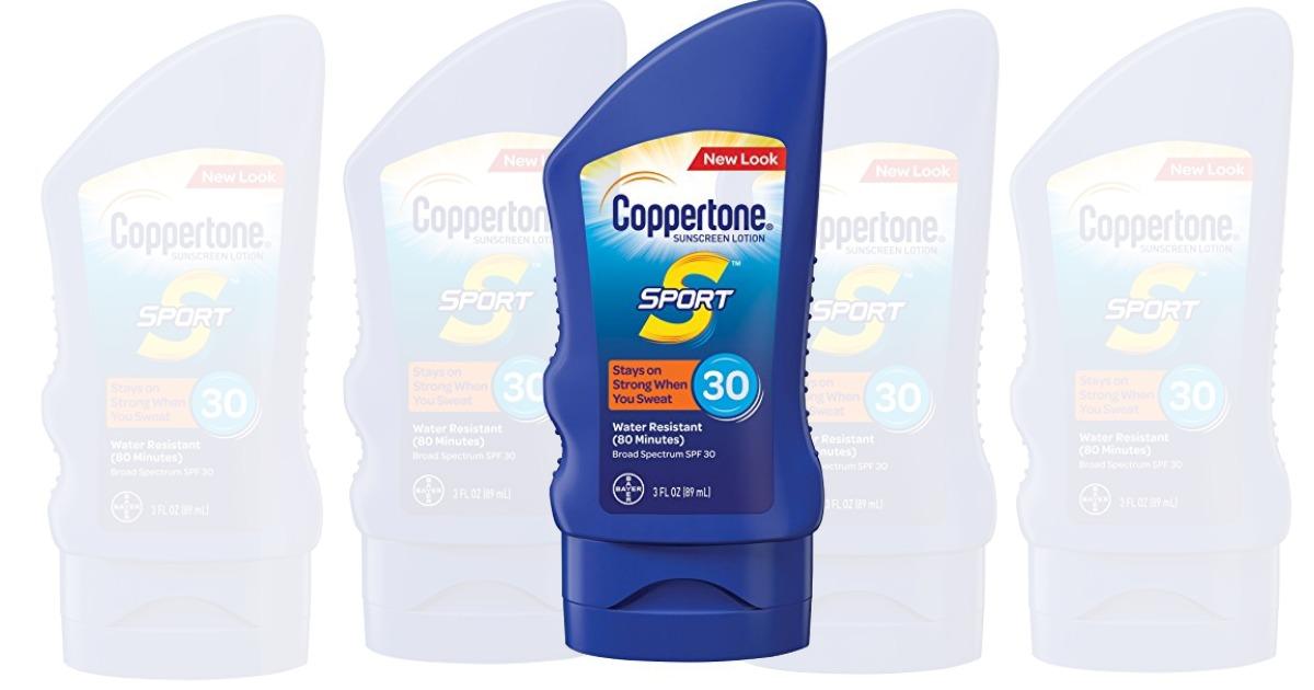amazon  coppertone sunblock only  1 47  regular price   4