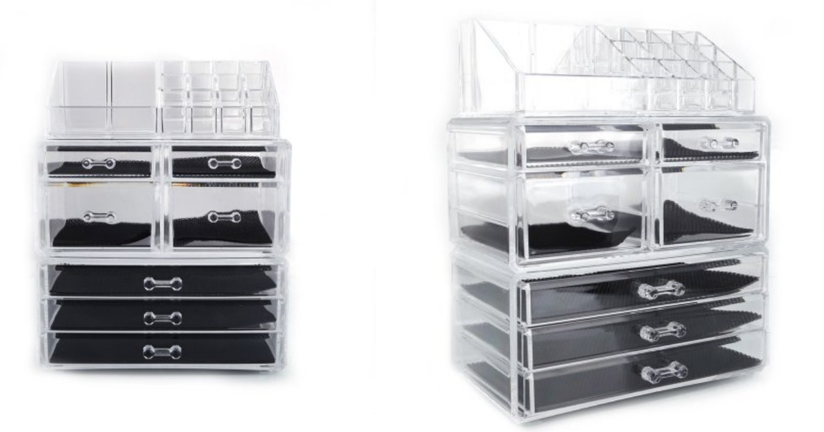 Walmart Cosmetic Table Organizer Makeup Holder only $19.98