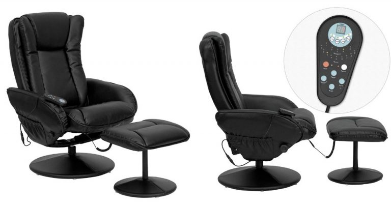 Amazon: Save Up To 30% Off Select Recliners · Flash Furniture Massaging  Black Leather ...