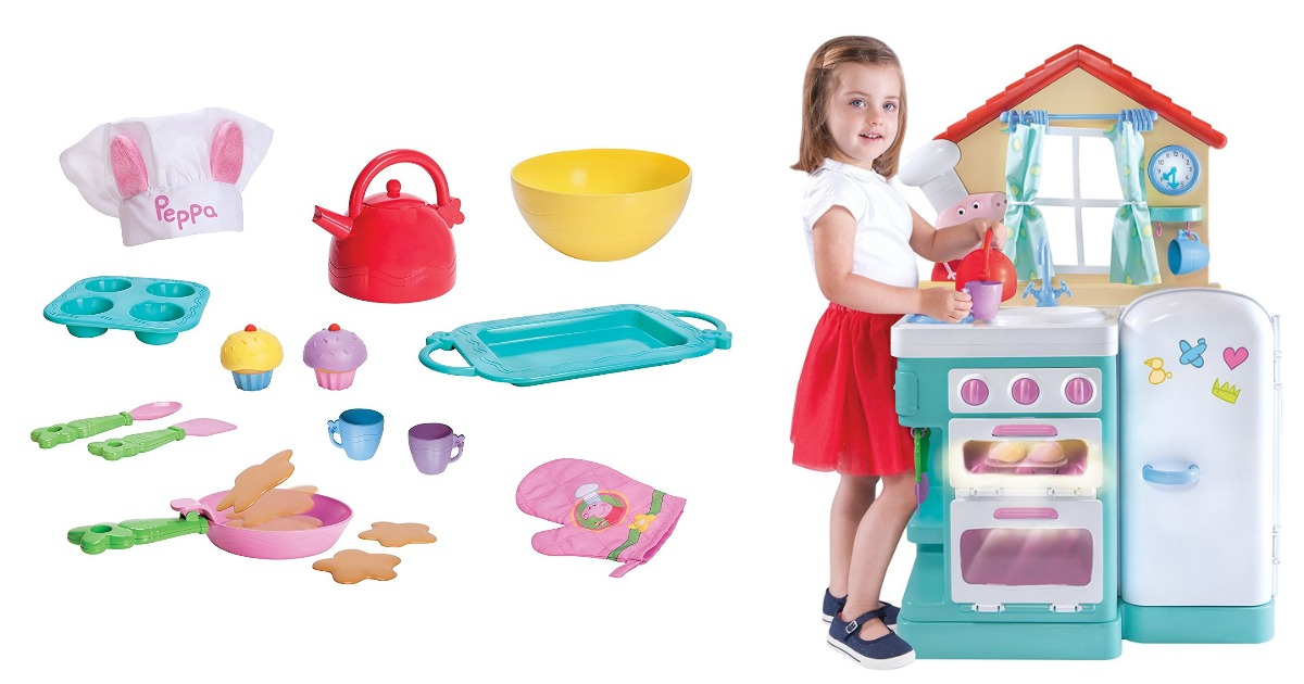 Amazon Peppa Pig Giggle Bake Kitchen Only 47 30 Regular Price