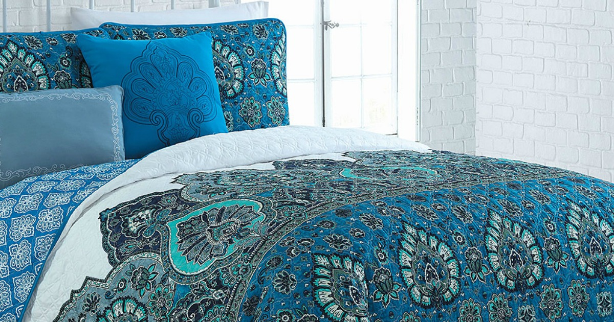 Zulily King And Queen 5 Piece Quilt Sets Just 29 79 Reg Up To 160 Mylitter One Deal At