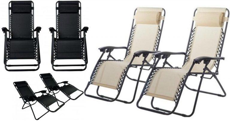 Set Of 2 Zero Gravity Chairs $39.99 Shipped Free. `