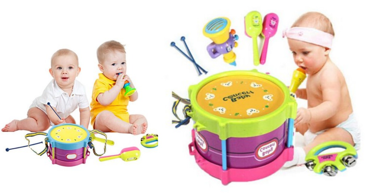 Baby Boy Toys Walmart : Walmart baby concert toys pc new roll drum musical