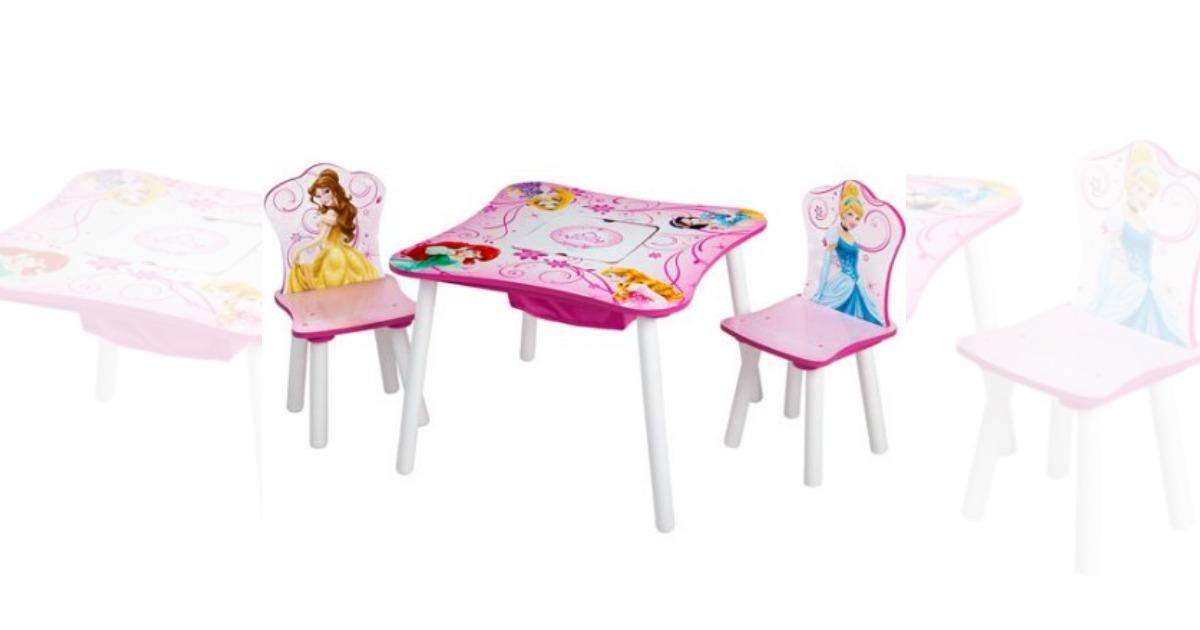 Walmart Disney Princess Storage Table and Chairs Set only $39.99 (regular price $75.07)  sc 1 st  MyLitter & Walmart: Disney Princess Storage Table and Chairs Set only $39.99 ...