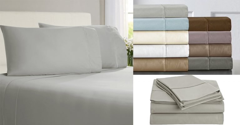 Amazon: Chateau Home Collection 800 Thread Count Queen Sheet Set $73.99  (Regular Price $190)