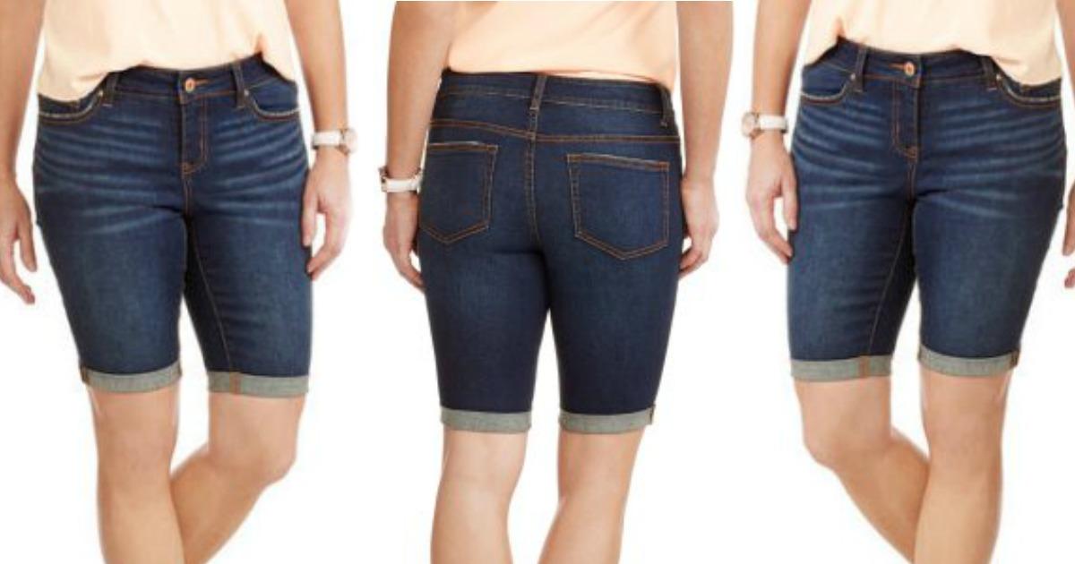 Walmart Faded Glory Women S Bermuda Shorts 10 86