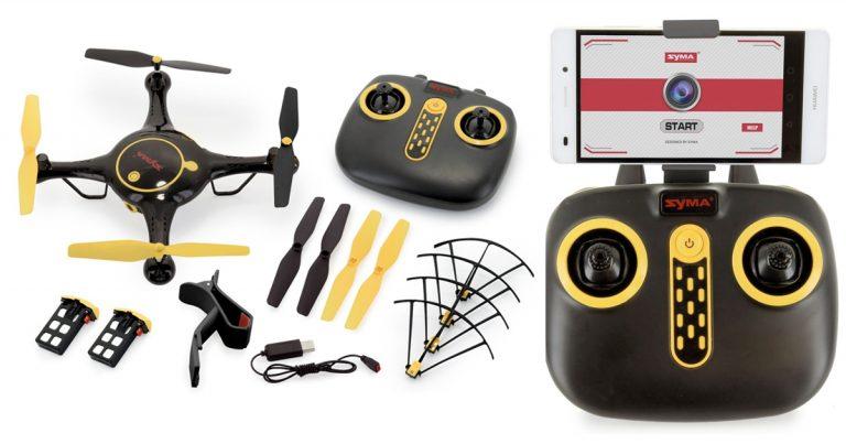 Amazon: Tenergy Syma Wifi FPV RC Camera Drone $29 99
