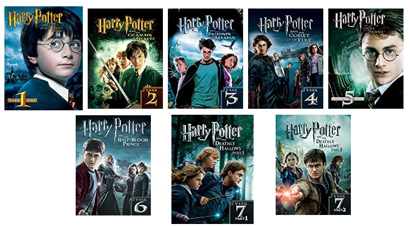 hot get every harry potter movie for 5 each mylitter