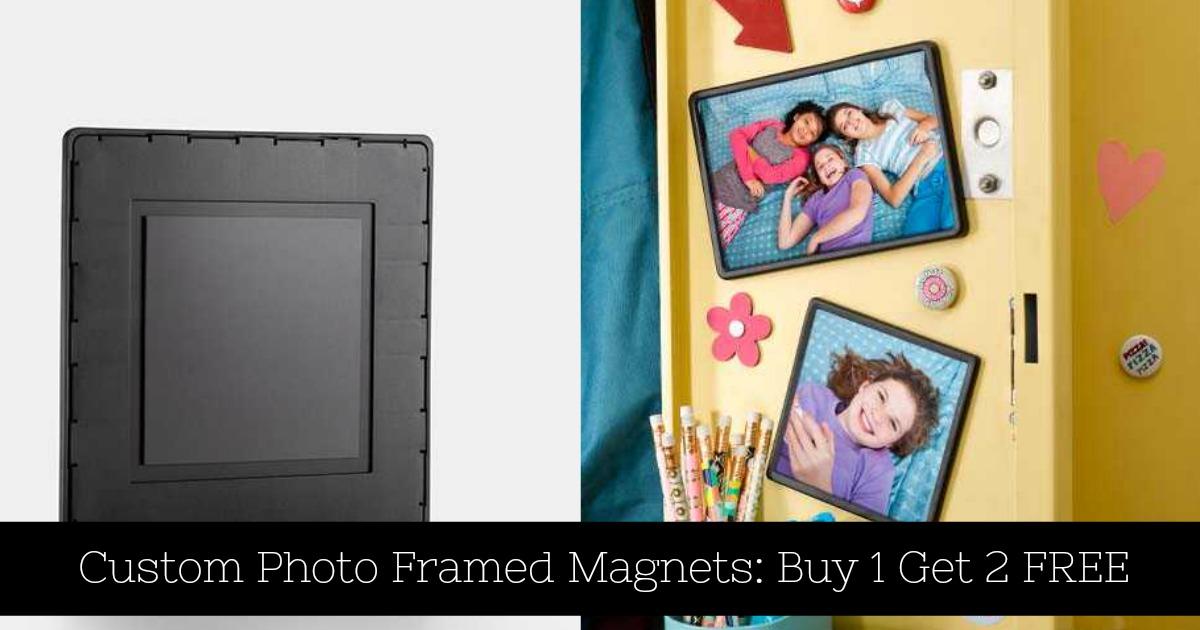 Walgreens: Custom Photo Frame Magnets Buy 1 Get 2 FREE - MyLitter ...