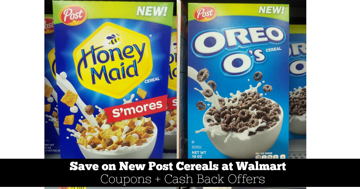 Save Money on New Post Cereals at Walmart (Oreo O's and