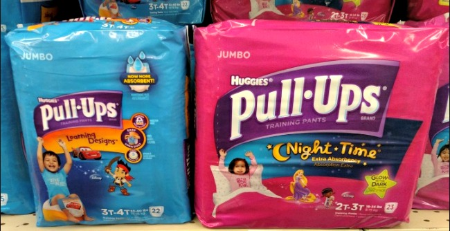 Huggies Pull-Ups Jumbo Packs only $1 99! - MyLitter - One