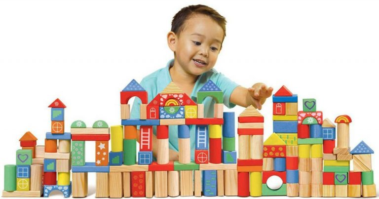 Exceptionnel Walmart Has A Great Deal On This 150 Piece Spark Create Imagine Wooden  Block Set With Storage Canister For $9.84 (reg. $20).