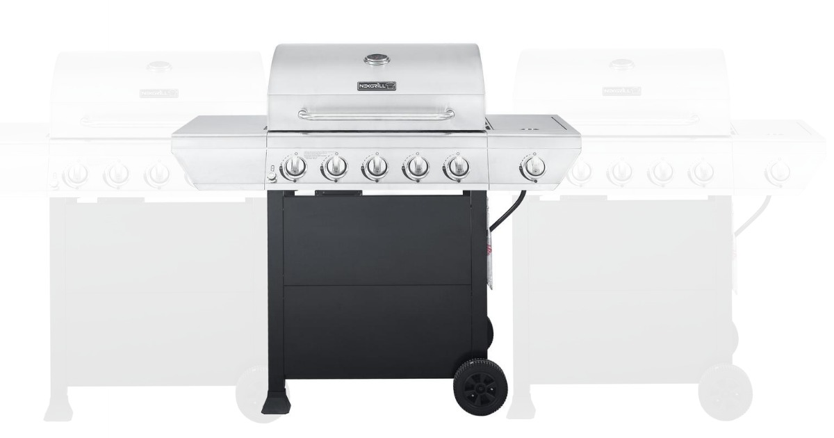 Home Depot: 5-Burner Gas Grill in Stainless Steel Grill only $149 ...