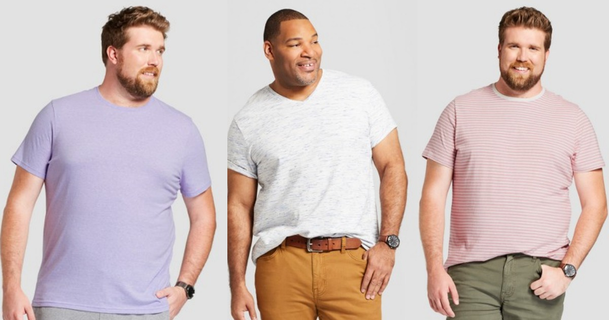 a3a69658ab9 Target: Goodfellow & Co. Men's Big & Tall T-Shirts only $5.98 ...