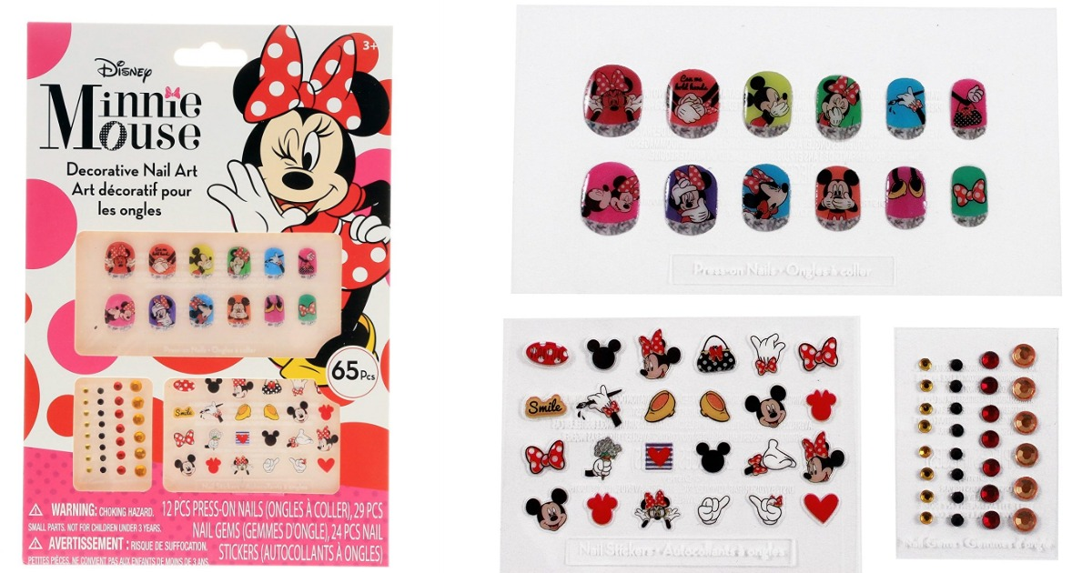 Amazon: Minnie Mouse Bowtique 65 pc Decorative Nail Art Kit only ...