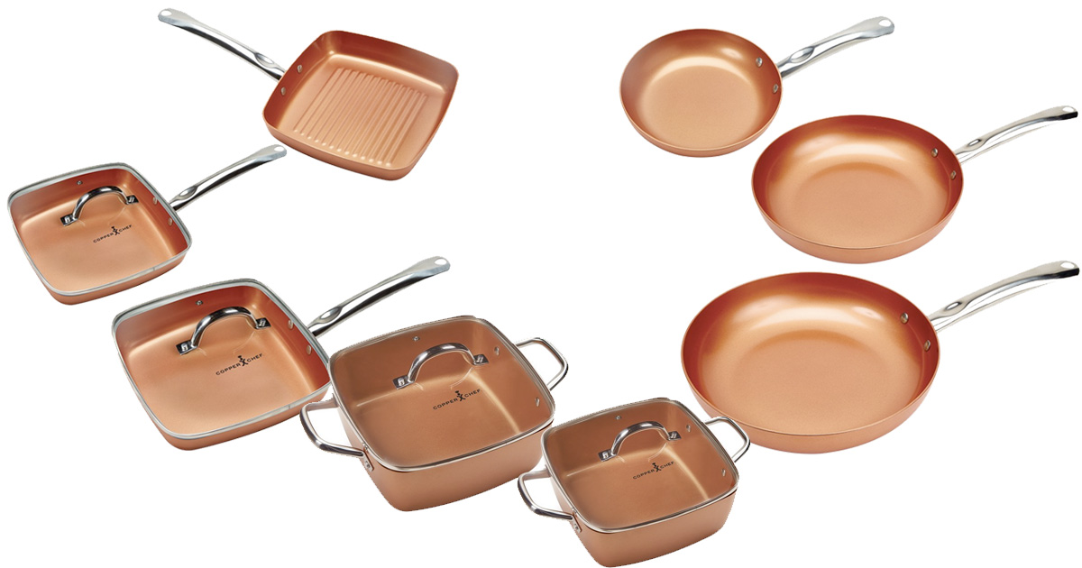 Amazon Save 25 On Copper Chef Cookware Mylitter One