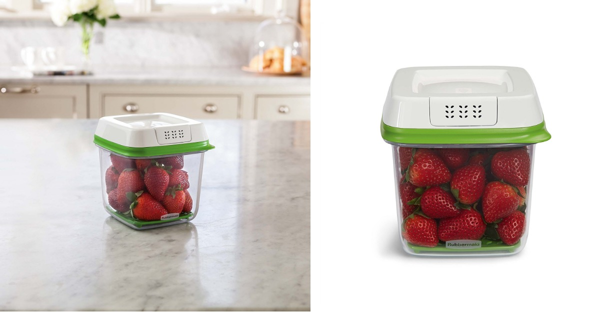 Vegetable Saver Containers Amazon rubbermaid freshworks produce saver food storage container amazon rubbermaid freshworks produce saver food storage container only 650 regular price 1299 workwithnaturefo