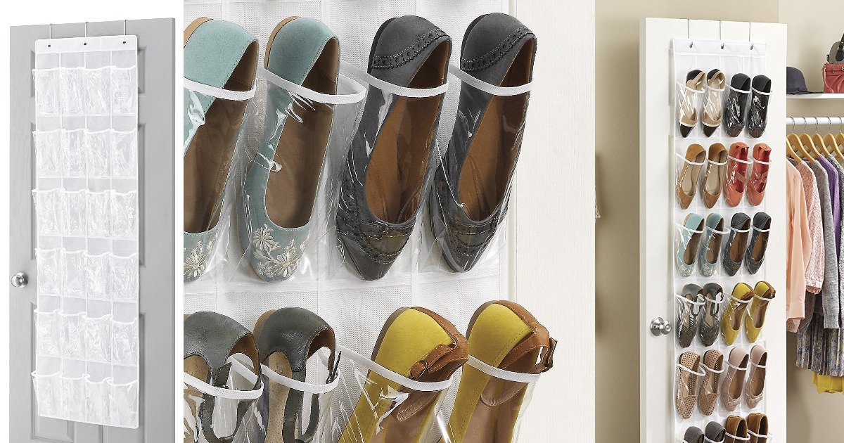 Amazon Whitmor Over The Door Shoe Organizer only $4.83 (Regular Price $8.49) & Amazon: Whitmor Over The Door Shoe Organizer only $4.83 (Regular ...