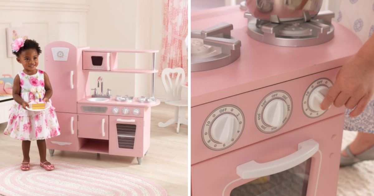 Walmart: KidKraft Vintage Play Kitchen Only $88.99 (regular ...