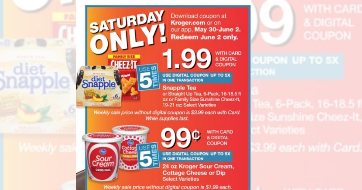 Snapple coupons may 2018