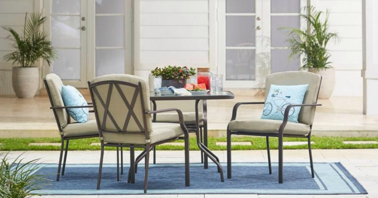Home Depot Hampton Bay 5Piece Patio Set Only 149