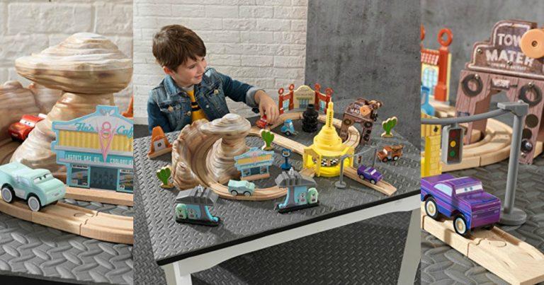 Kidkraft Disney Pixar Cars 3 Wooden Track Set 3099 Reg 85
