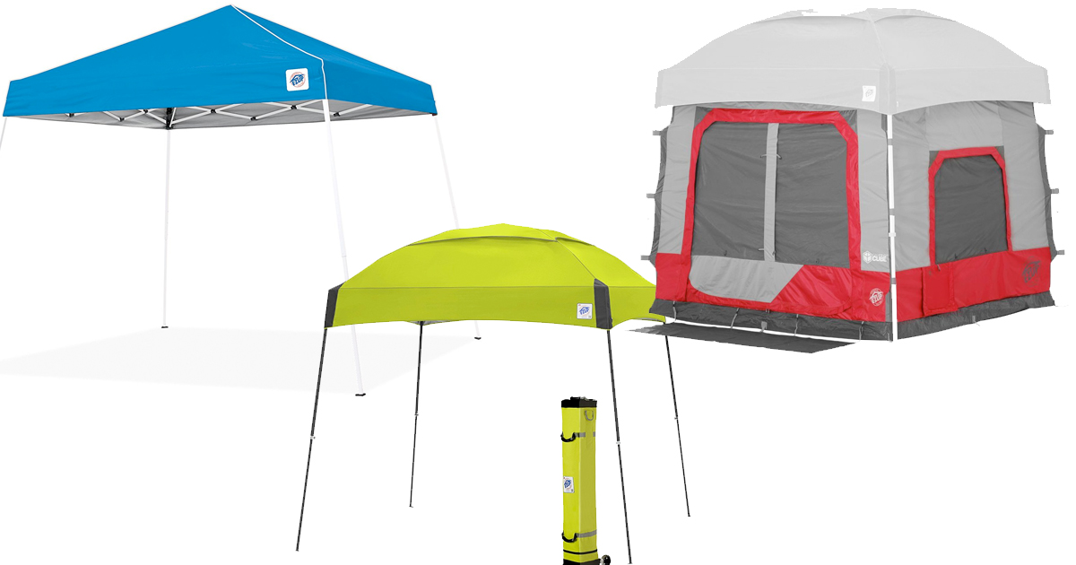 Amazon: Save big on E-Z UP Dome Canopies & Camping Tents ...