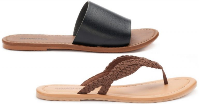 aae3ccd966c Kohl's: Women's Sonoma Sandals Only $7.99 (Reg. $20) - Big Selection ...