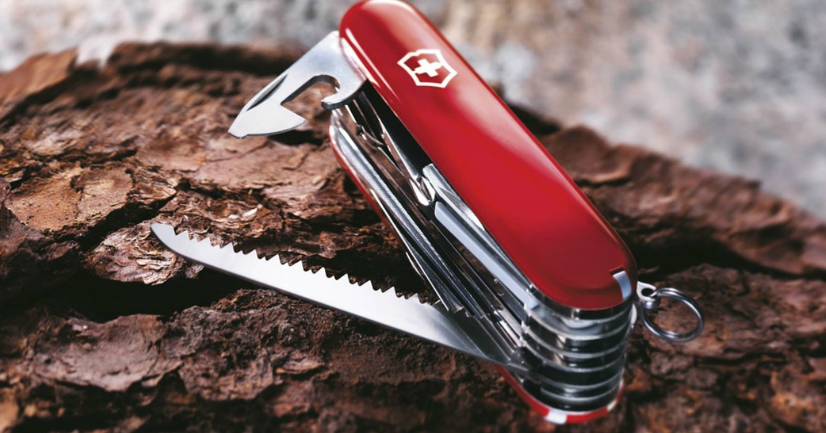Today Only Amazon Save Big On Swiss Army Knives From