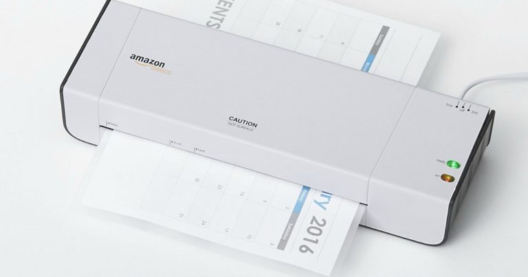 Amazon Prime Day Amazonbasics Thermal Laminator