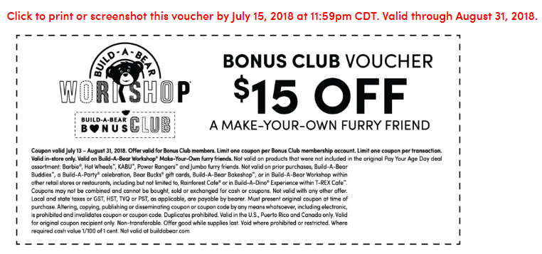 skip the line print a coupon build a bear workshops pay your
