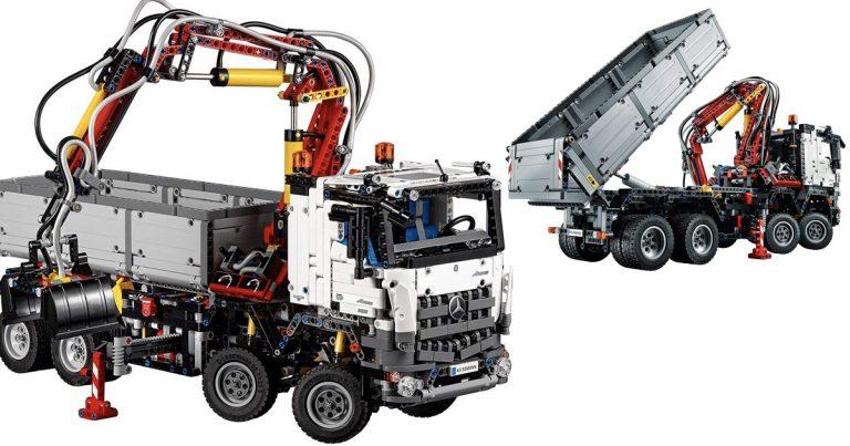 Prime Day Lego Technic Mercedes Benz Arocs Building Kit 183 99 Regular Price 230