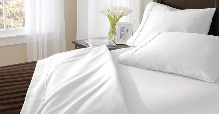 Amazon: Coit U0026 Campbell Premium Hotel Collection Bed Sheet Set As Low As  $32.79