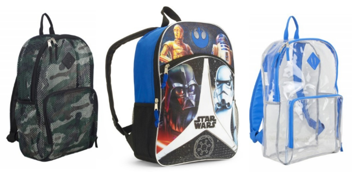 Back to School: Book Bags as low as $10!