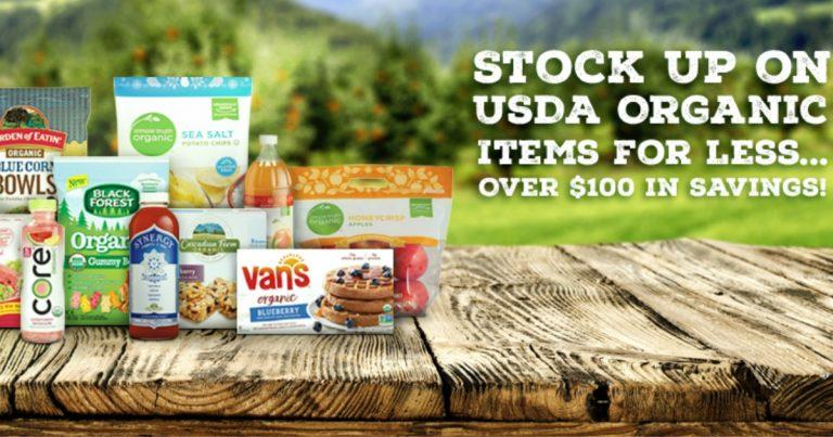 Kroger: NEW 5X Digital Coupons! Save over $100 on UDSA Organic