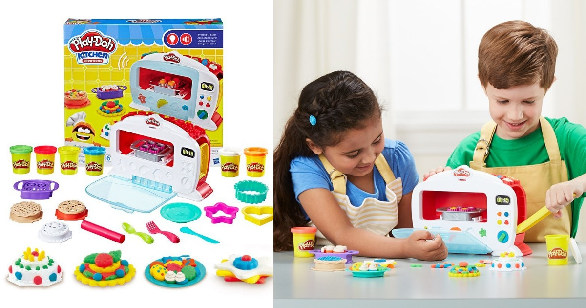 Amazon Play Doh Kitchen Creations Magical Oven Only 16 49 Regular