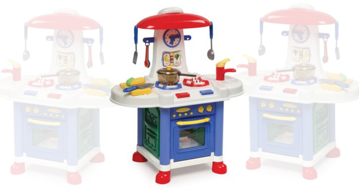 Walmart: Badger Basket Junior Electronic Play Kitchen with ...