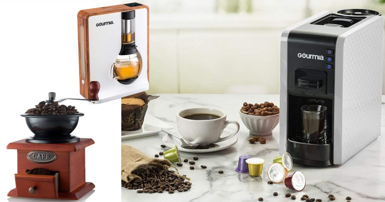 bee09394523 Amazon: Save Big On Select Gourmia Coffee Makers & Accessories ...