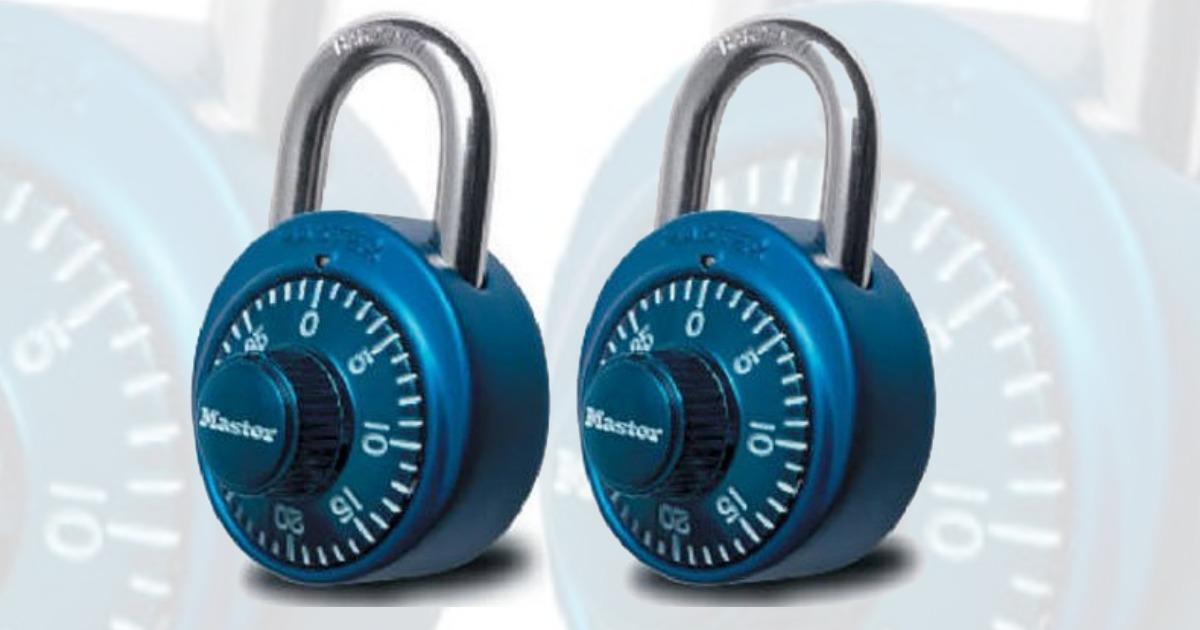 Amazon: Master Lock Padlock only $5 91 (Regular Price: $11 88