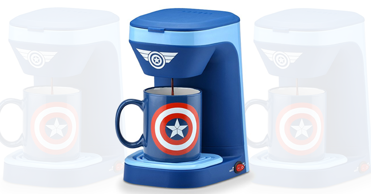 Amazon Marvel Captain America 1 Cup Coffee Maker With Mug Only