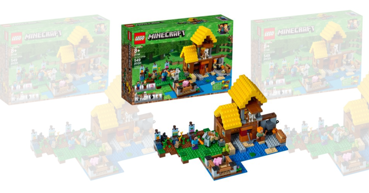 2ff3d0bcfc40 Walmart: LEGO Minecraft The Farm Cottage only $35.99 (regular price ...